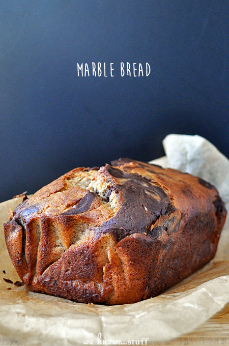 This Marbled Banana Bread combines the best of both worlds: Traditional Banana Bread and Chocolate Chocolate Chip Bread! It's a fairly simple quick bread.