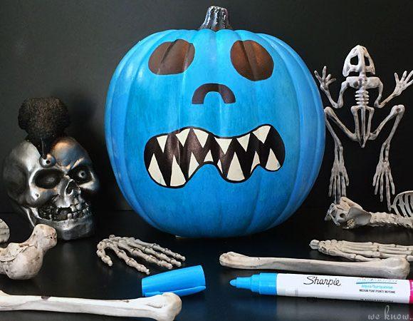 FARE Teal Pumpkin Project Halloween Craft