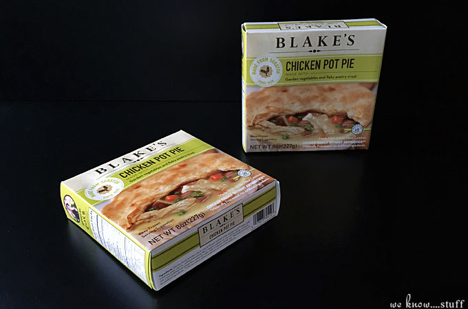 Dining Solo? Try Blake's All Natural Pot Pies. Full of all natural and organic ingredients, homemade cooking has never been easier for myself!