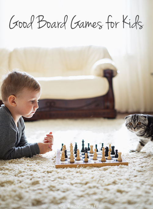 The cold, wintry weather is ahead. Is your family prepared? Keep your kids from having too much screen time with our list of Good Board Games For Kids!