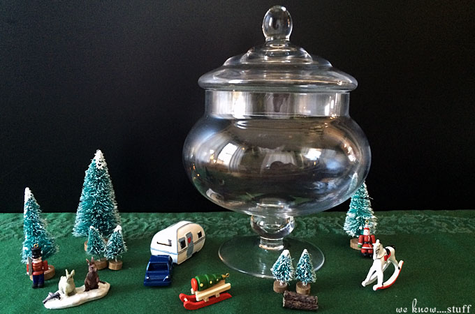Our Christmas Terrariums are all about the kids. Let this joyful craft be full of their ideas and Christmas Spirit. There's no need for perfection here.