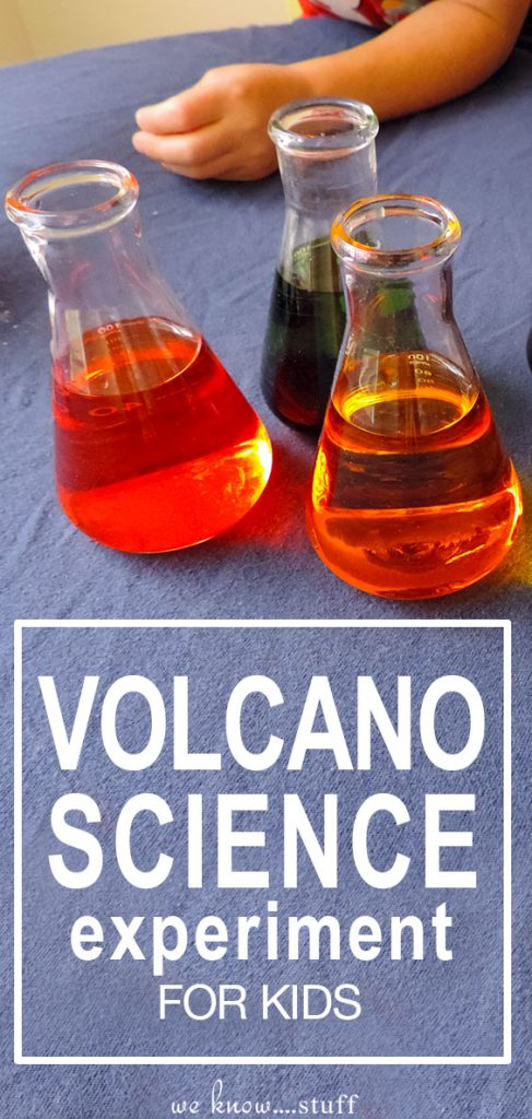My kids love messy sensory projects and this volcano science experiment for kids was right up their alley. All you need is some baking soda, vinegar, soap and food dye. Great STEM project.