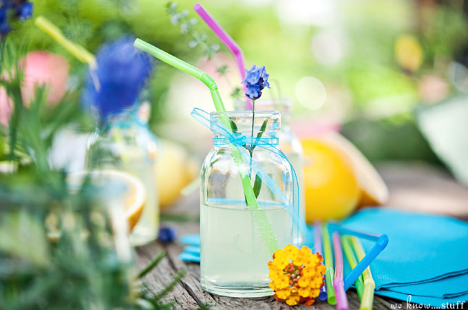 This Easy Lavender Lemonade Recipe is perfect for summer barbecues and can be turned into an adult cocktail with just a splash of vodka.