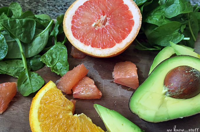 Looking for a new summer salad recipe? This Citrus Spinach Salad with Orange Shallot Dressing is delicious and was passed down from a neighbor years ago.