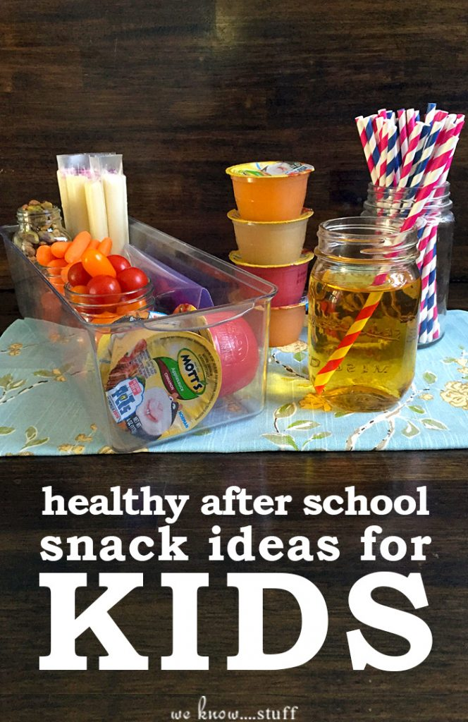 Are your kids starving when they get home from school? Ours are. So we put together some Healthy After-Activity Snack Ideas For Kids for you! P.S. Creating a nutritious snack station has done wonders for our family!