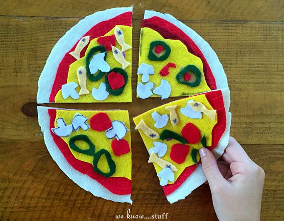 Felt Pizza Craft