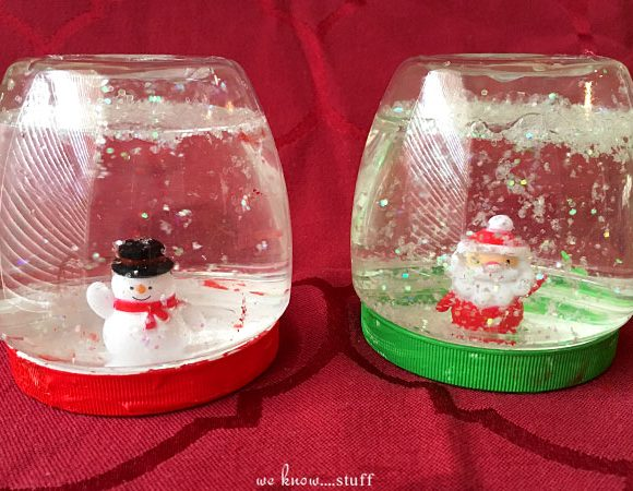 Plastic Jar Snow Globes For Kids