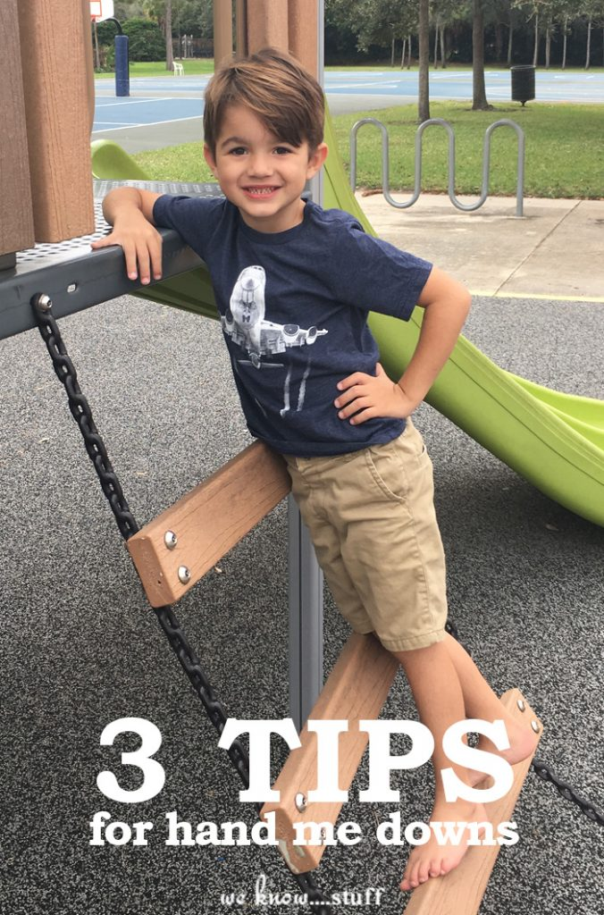 3 Hand Me Down Tips When Shopping For Kids Clothes
