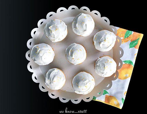 Lemon Chamomile Cupcakes