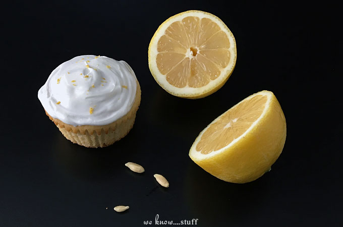 These Lemon Chamomile Cupcakes are perfect for tea time or anytime at all. We frosted ours with homemade buttercream frosting, but store bought works too!