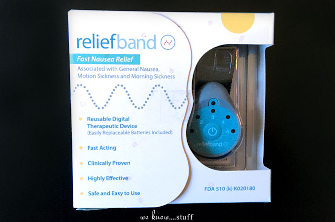 Reliefband: Fast Nausea Relief - Stop Motion Sickness In Its Tracks. Reliefband: Fast Nausea Relief - Stop Motion Sickness In Its Tracks. Highly effective, clinically proven, FDA cleared wearable technology for treatment. #LifeChangingTech #ad