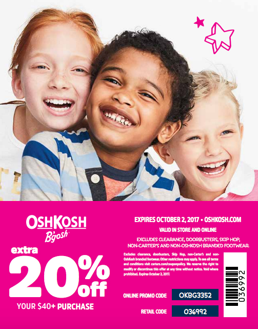 My daughter, a very picky dresser, gives five pieces of Kids Fashion Advice to help other kids find their sense of style. Get an Osh Kosh Coupon Code too!
