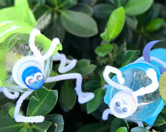 How To Make An Awesome Plastic Bottle Firefly That Glows