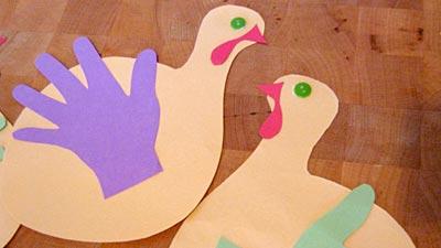 Kids Craft Turkey Window Decorations We Know Stuff