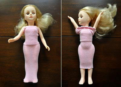 Recycled Baby Socks Make Cute Doll Dresses We Know Stuff