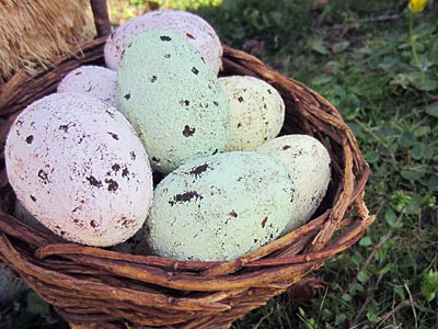 This Speckled Plastic Easter Egg craft idea is a great way to reuse all of your plastic eggs. Plus, reusing them each year is kinder to the environment. www.weknowstuff.us.com