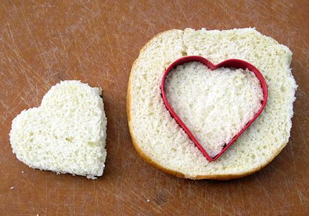www.weknowstuff.us.com, Heart-Shaped Sandwiches, King's Hawaiian