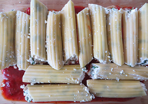 This vegan tofu manicotti recipe is so rich and creamy, no one will ever know it's made with tofu! It's a perfect Meatless Monday meal for your family.